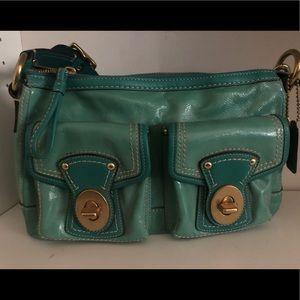 Beautiful Leather shoulder bag by Coach